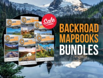 25% OFF Backroad Mapbook Bundles
