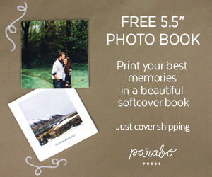 Free Softcover Photo Book