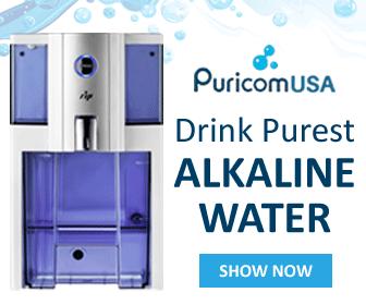 DRINK PUREST ALKALINE WATER