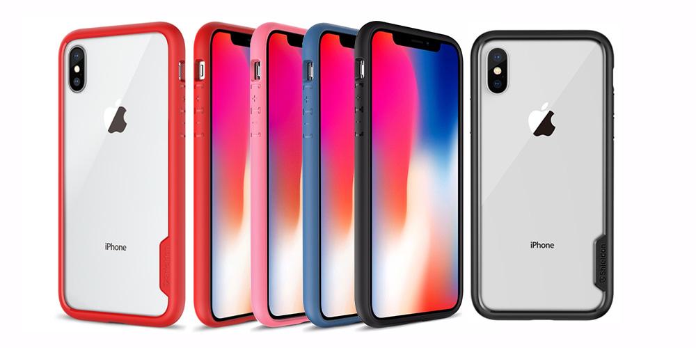 iPhone X Clear Case - Transparent Back