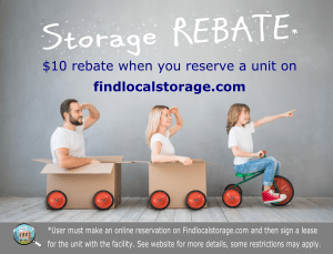 Storage Rebate