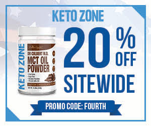 Ketozone July 4th Banner 300x250
