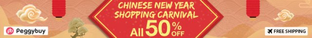 Chinese New Year Shopping Carnival, All 50% OFF