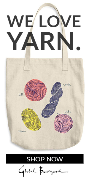 We Love Yarn Tote Bag