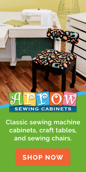 Shop Arrow Sewing Cabinets!