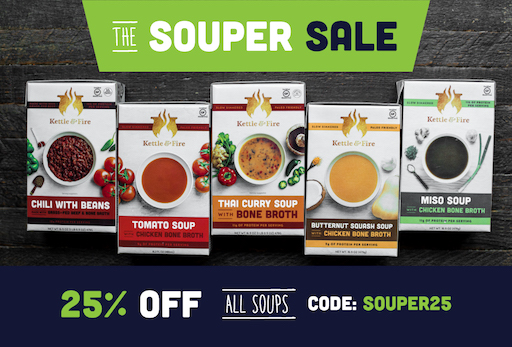 Souper Sale 25 Email2 00 - Sacred Springs Kombucha REVIEW - Take A Sip! Your Gut Will Thank You