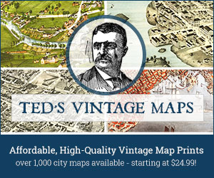 Visit Ted's Vintage Maps Now