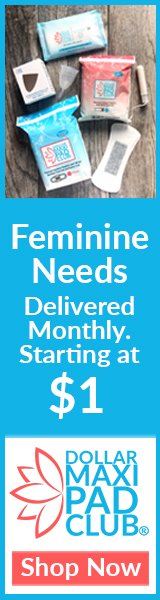 Feminine Needs Delivered Monthly. Starting at $1.
