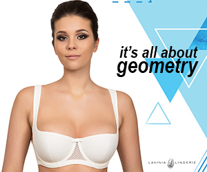 New Bra With Some Serious Geometry Added On Lavinia Lingerie