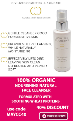 40% DISCOUNT - Natural Face Cleanser