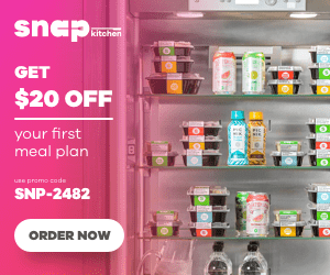 Enjoy $20 off your first Snap Kitchen meal plan!