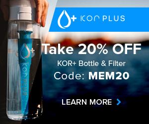 Save 20% on KOR+ Bottle and Filter Subscription