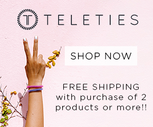TELETIES Free Shipping on 2 Products