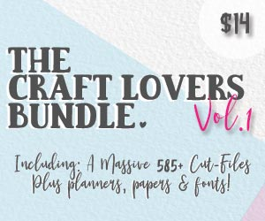 The Craft Lovers Bundle Vol. 1 | Now ONLY 11.20