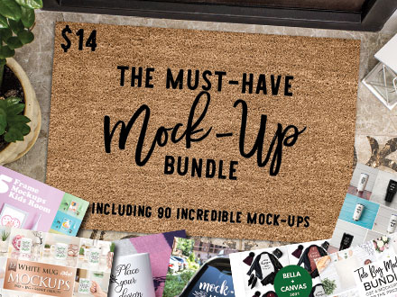 The Must-Have Mock-Up Bundle $14 ONLY