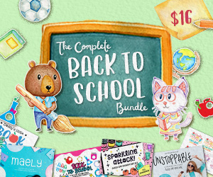 The Complete Back to School Bundle by CraftBundles.com