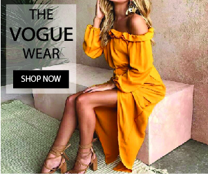 The vogue wear woman clothing apparel