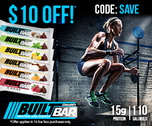 BuiltBar.com -- 10% Off* Your Order with Coupon Code: SAVE