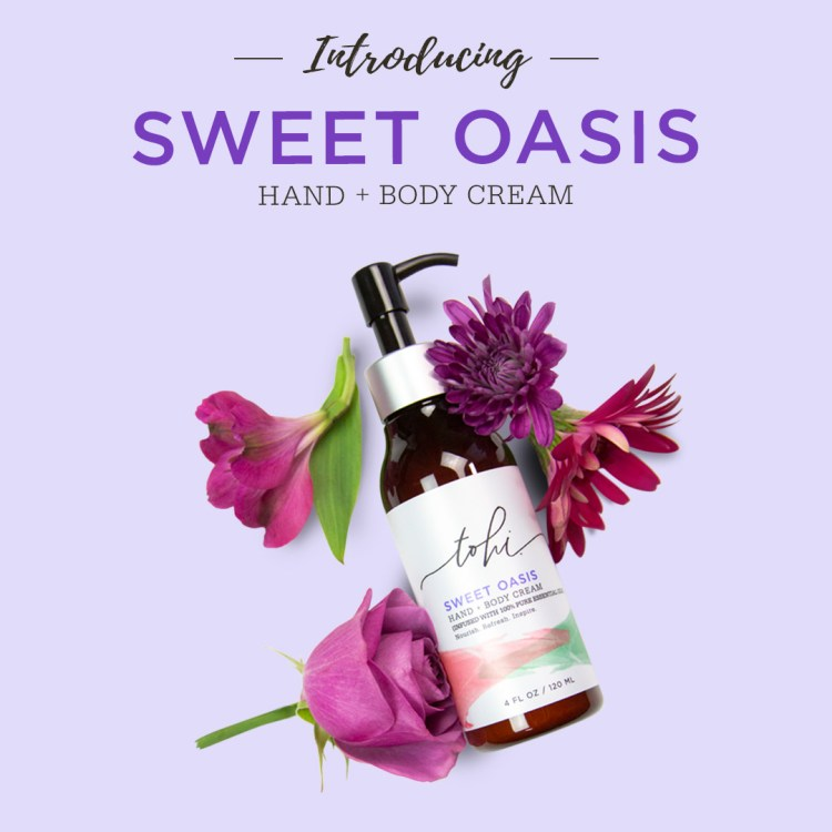 Sweet Oasis Hand + Body Cream