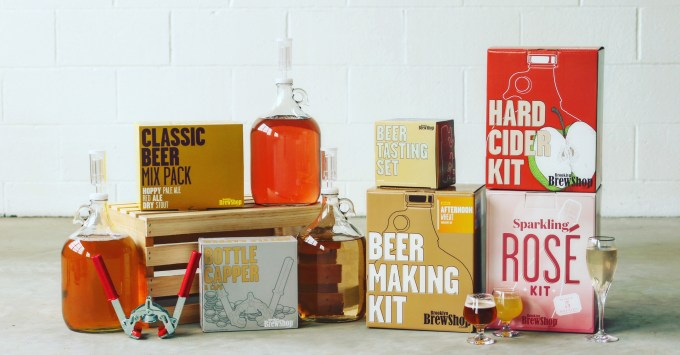 Beer Making Kits from Brooklyn Brew Shop