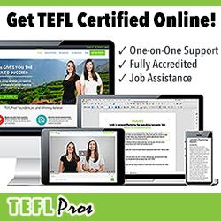 Get TEFL Certified Online