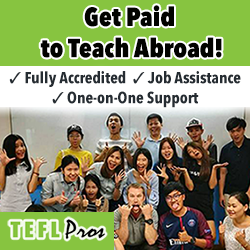 Get Paid to Teach Abroad