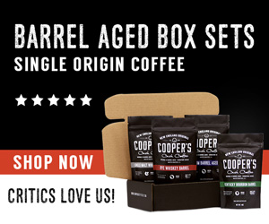 coffee whiskey barrel coffee gift