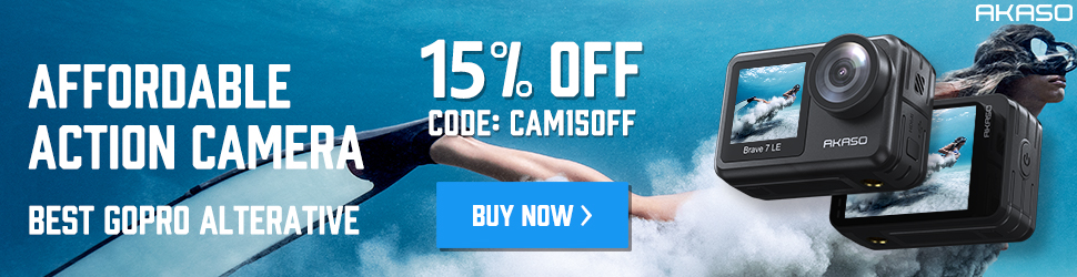 Get 15% Off for New Cameras With Code: CAM15OFF