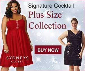 Signature Cocktail Plus Size Collection