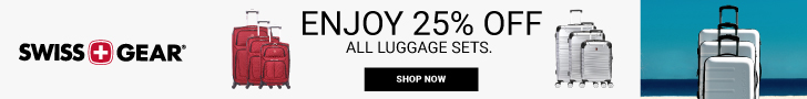 Get 25% Off SWISSGEAR Luggage Sets