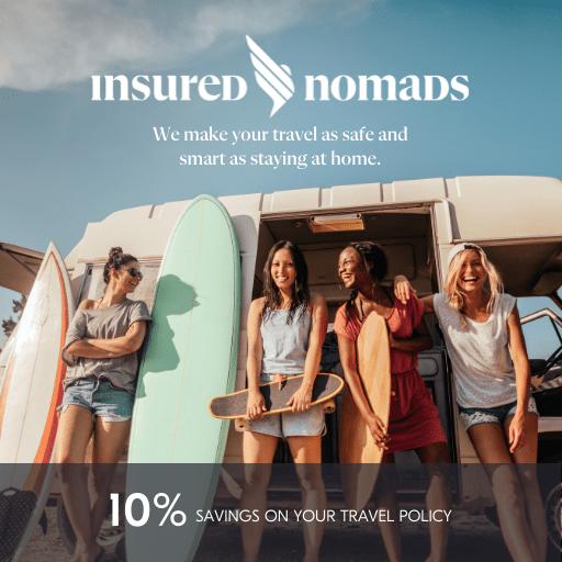 Travel insurance Partner: Insured Nomads