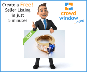 Visit the Crowdwindow Worldwide Online Auction Marketplace