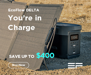 Save up to $400 on EcoFlow Power Station, Buy Now!