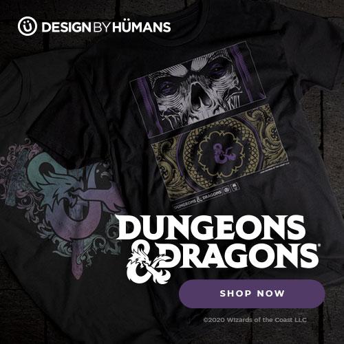 Shop the Dungeons & Dragrons at DesignByHumans.com