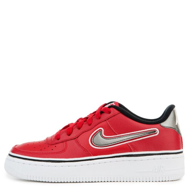 e151009d3d8 Red Black And White 1s - Air Force 1 Lv8 Sport Air Force 1 Lv8 Sport ...
