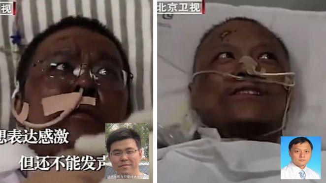 Corona virüsü yenen Çinli doktorlar