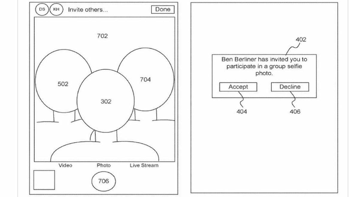 selfie patenti