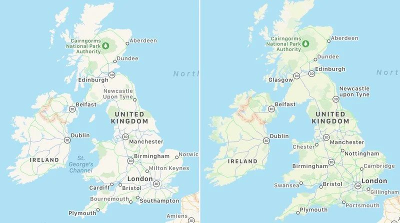 Apple Haritalar daha detaylı olacak! Yeni özellik 2