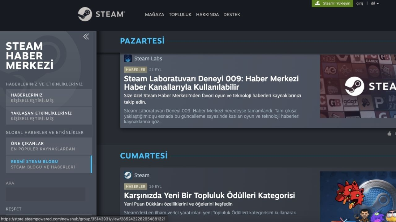 Steam Haber Servisi-00
