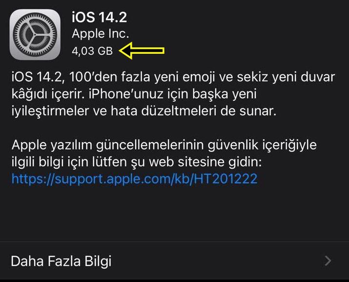 iOS 14.2 güncellemesi (GM) çıktı! İşte yenilikler! 6