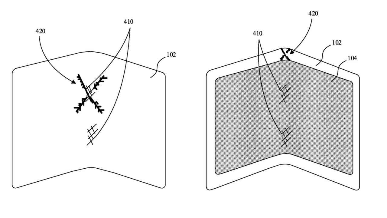 Katlanabilir iPhone için yeni ekran patenti ortaya çıktı 2