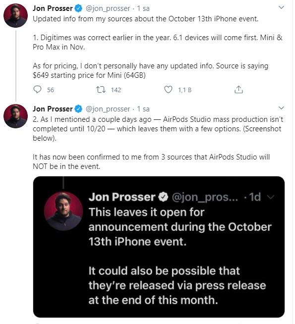 iPhone 12 Pro Max ve Küçük gecikebilir! İşte tarih 2