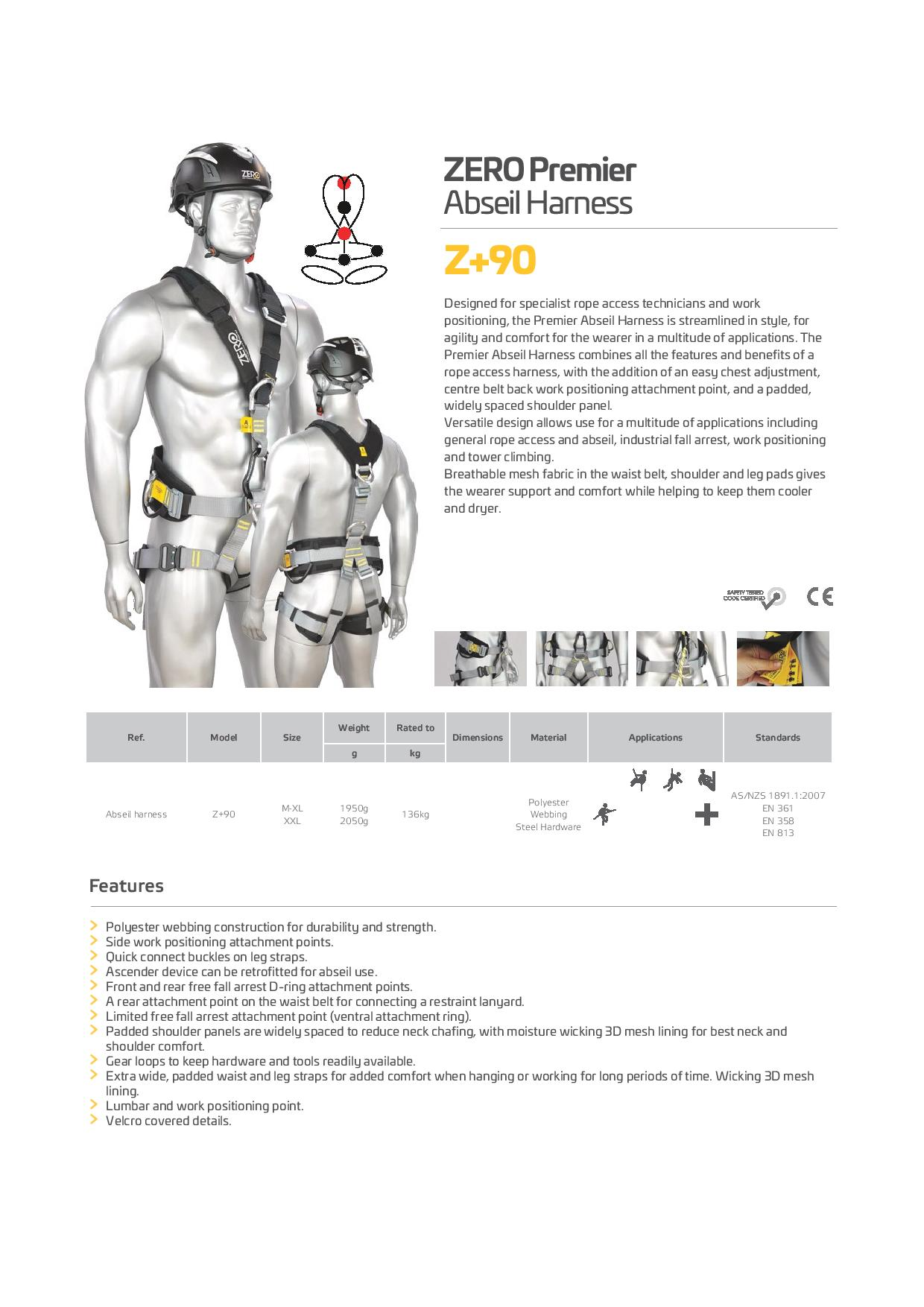 Zero Plus Harness