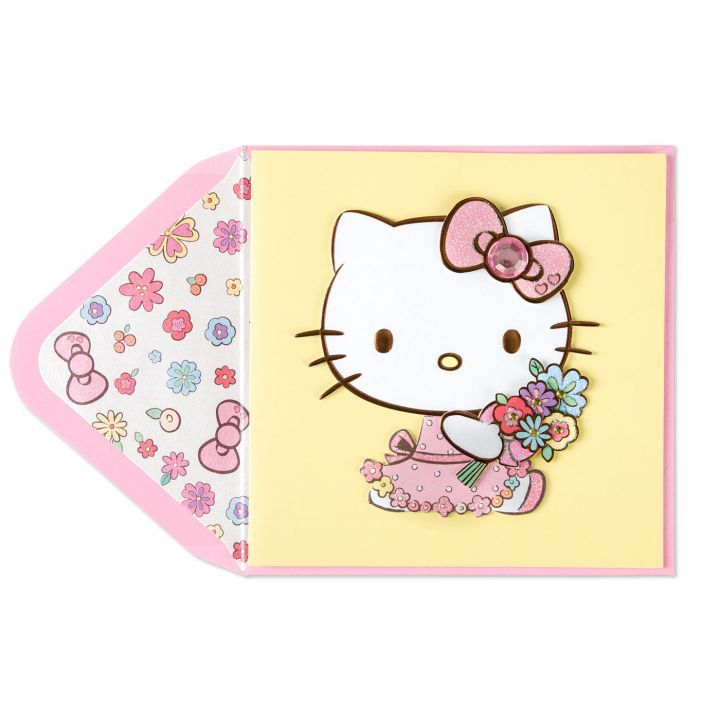 Papyrus Greetings Mothers Day Card Hello Kitty With
