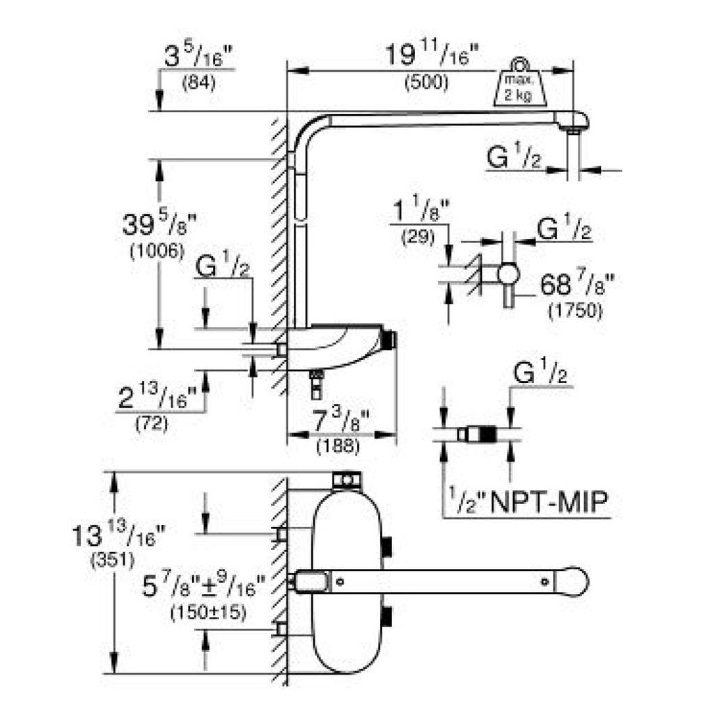 Grohe Rainshower System Smartcontrol Shower