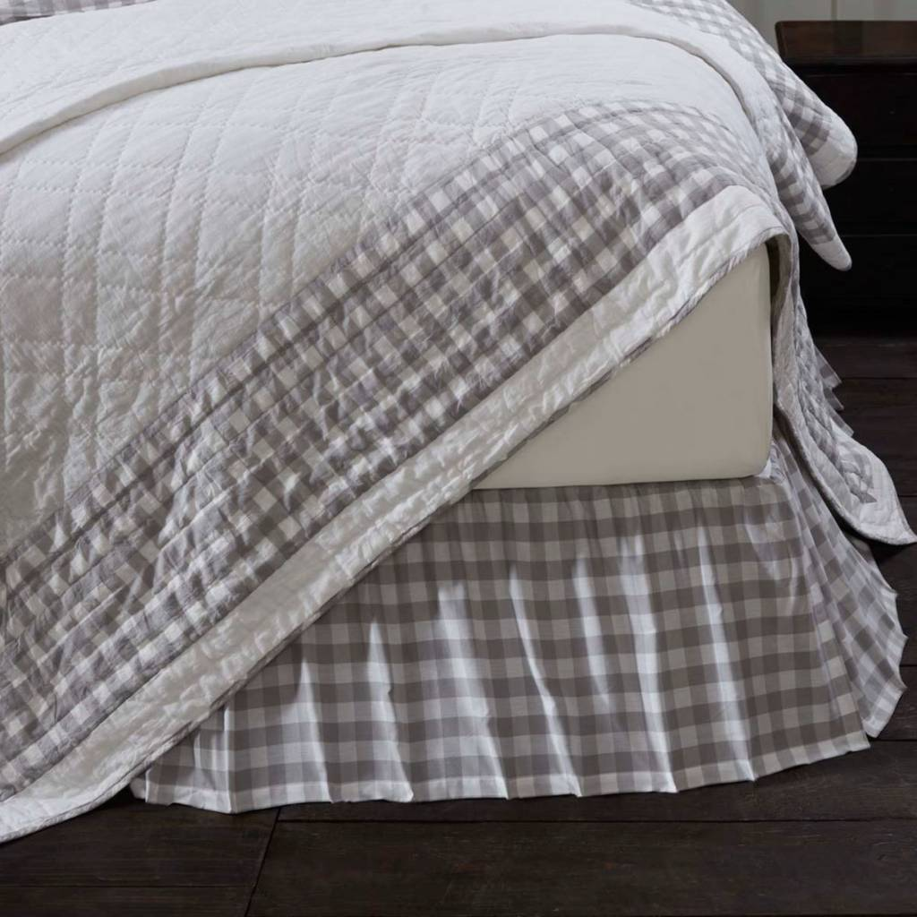 Annie Buffalo Check Bed Skirt Annie Buffalo Check