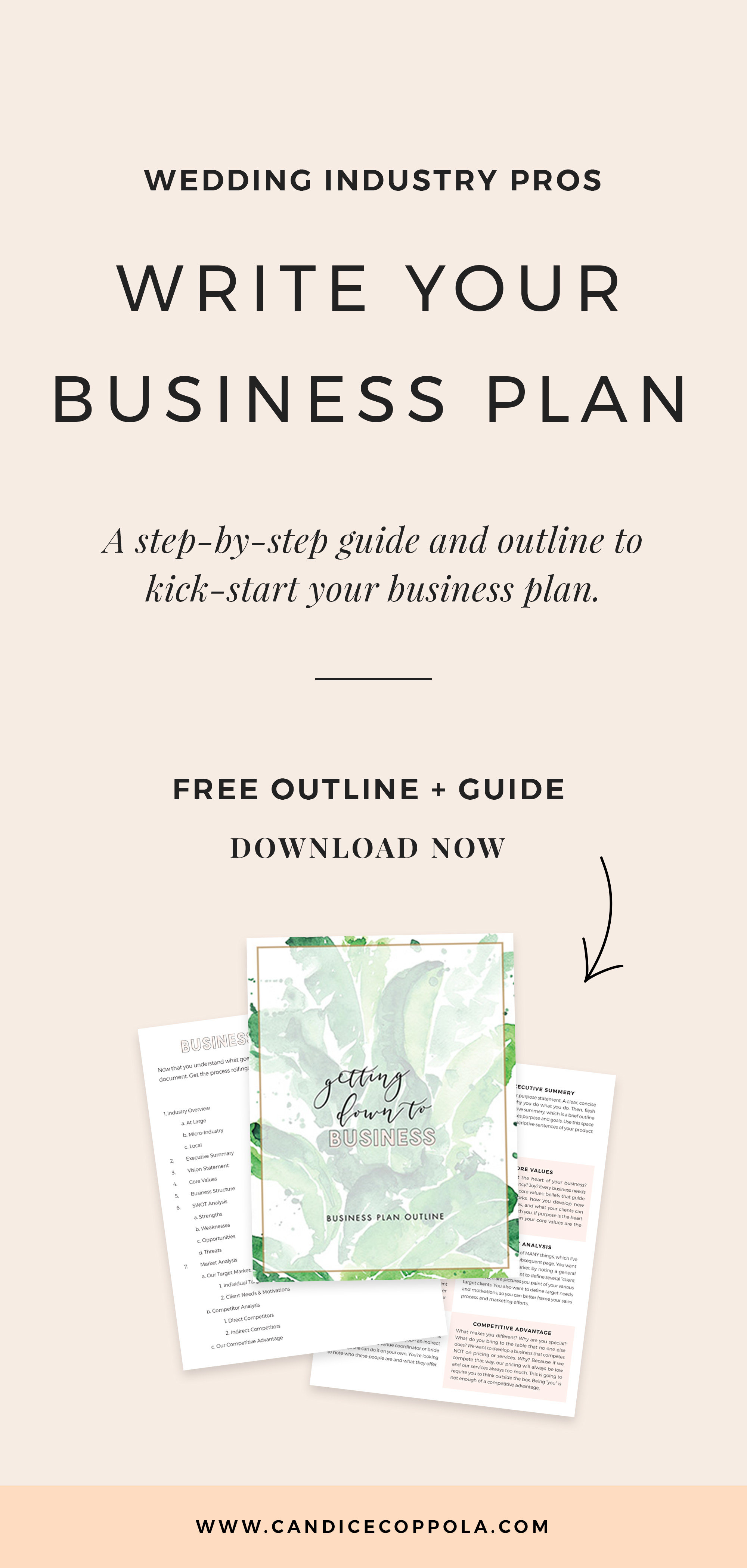 Wedding Planner Business Plan Template