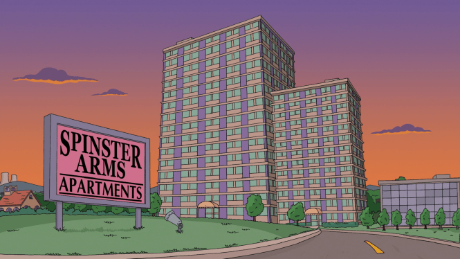 Spinster City Apartments Png