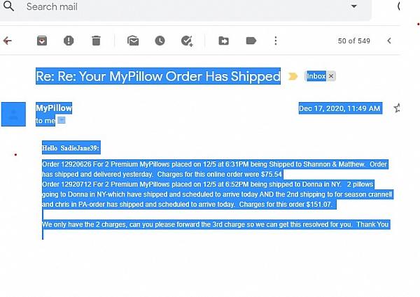 reviews of mypillow com