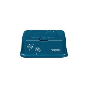 FunkyBox- Porta toalhitas Azul Petróleo